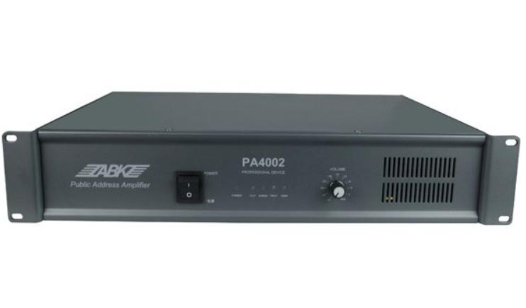 Усилитель мощности ABK PA-4002: цена, характеристики   Интернет-магазин Pguards Pguards.ru